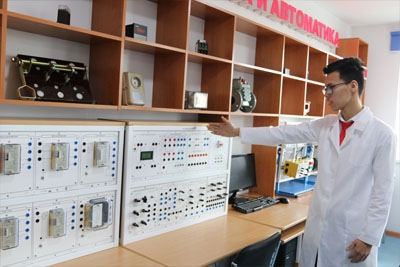United Nations Development Program has provided Kazakh-German Polytechnic College with 8 training simulators